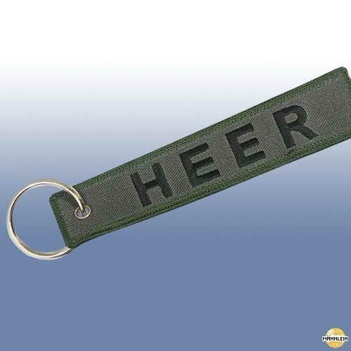 """MMB Schlüsselanhänger \""""HEER\"""""""