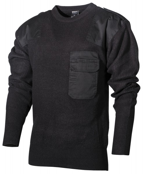 MFH BW Pullover, mit Brusttasche, Modifiziert