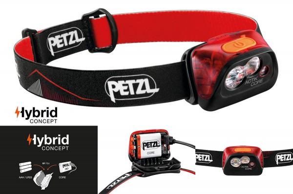 PETZL ACTIK® CORE- red