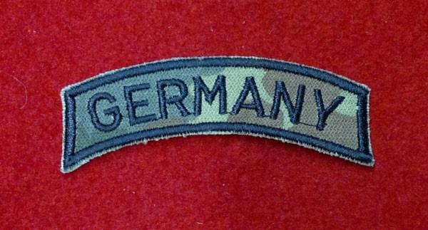 FB Ärmelabzeichen - GERMANY - flecktarn - schwarz