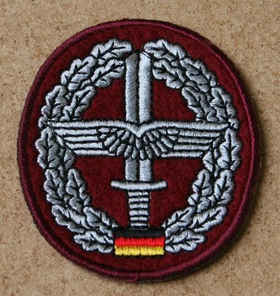 FB Bw Barettabzeichen gestickt - Heeresflieger
