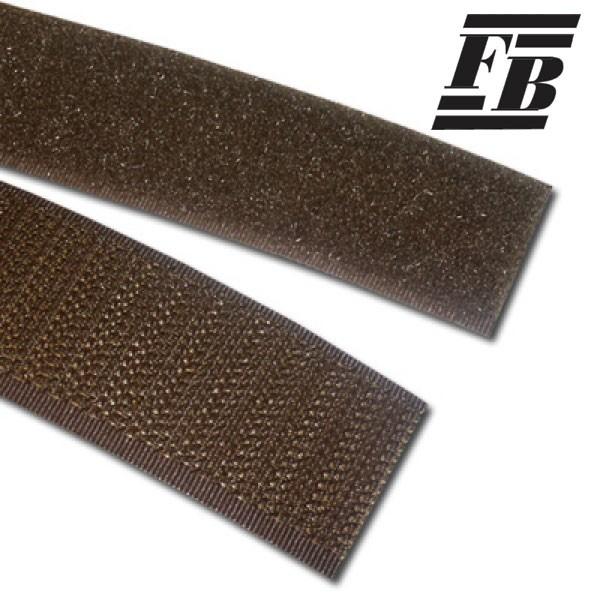 FB Klettband 25 mm oliv - Flausch