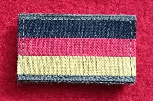 FB Deutschland Armflagge, gewebt, mit Klett