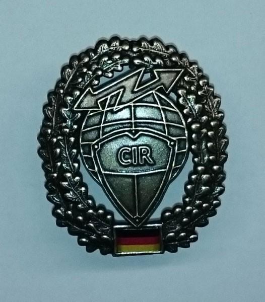 FB Bw Barettabzeichen Metall - CIR Cyber