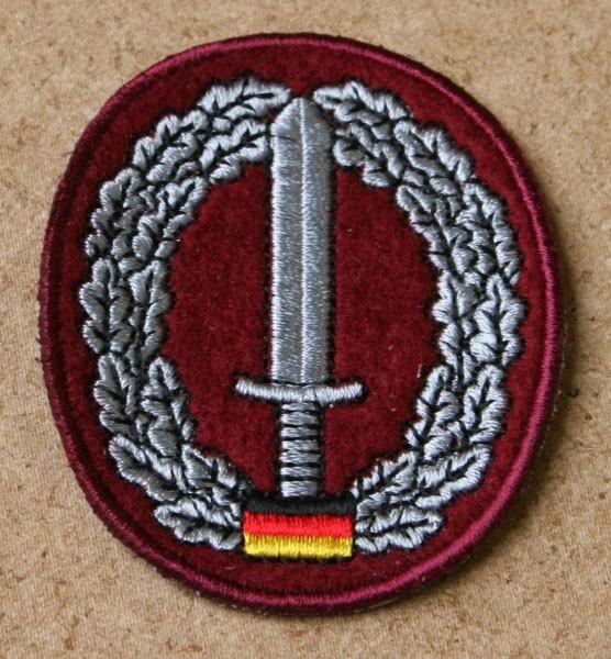FB Bw Barettabzeichen gestickt - KSK Kommando Spezialkräfte