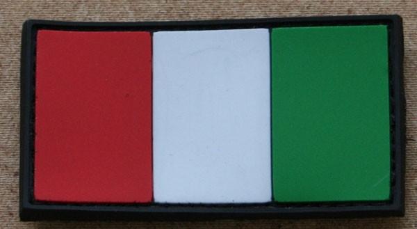 FB Italien, bunt, Gummiabzeichen