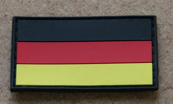 FB Deutschland, bunt, Gummiabzeichen