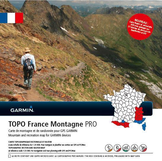 Topo France Montagne PRO