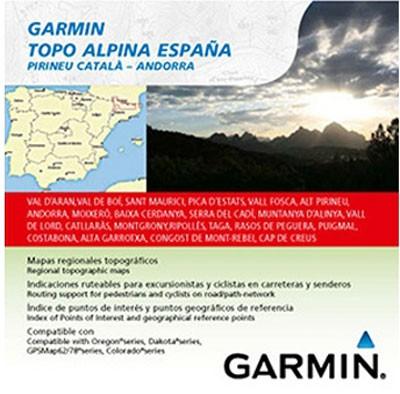 Topo Alpina Espana Pirineo Catala microSD/SD