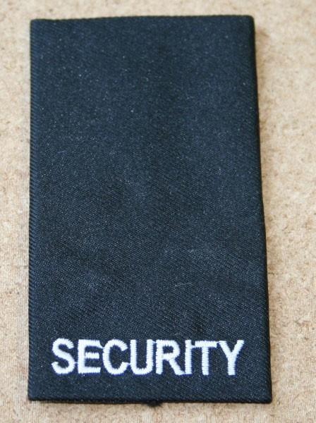 FB Aufschiebeschlaufe SECURITY, schwarz