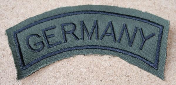 FB Ärmelabzeichen - GERMANY - oliv - schwarz