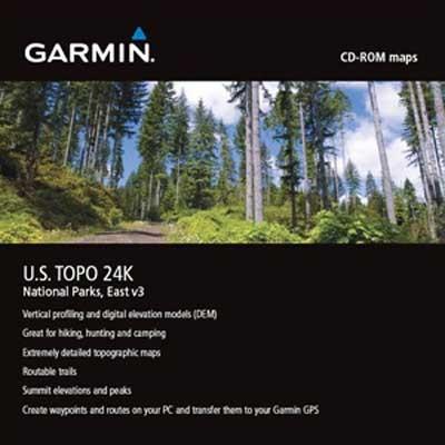 Topo USA 24K Nationalparks Ost