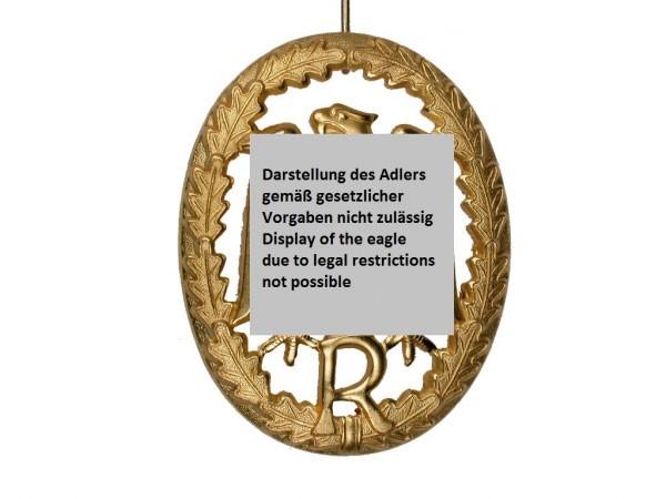 FB Bw Leistungsabzeichen f. Reservisten, Metall - gold