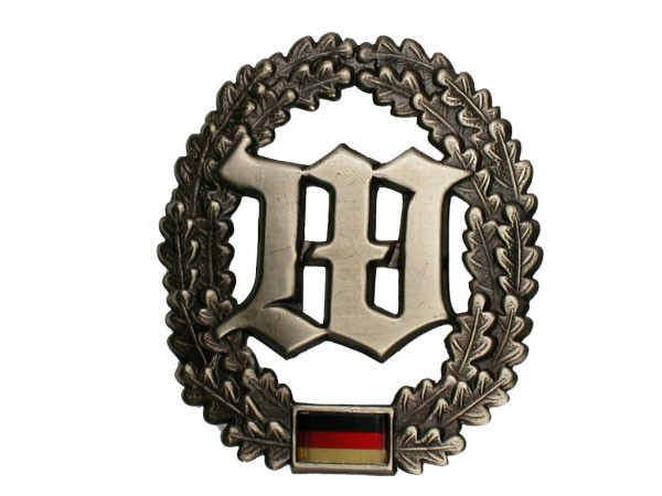 FB Bw Barettabzeichen Metall - Wachbataillon