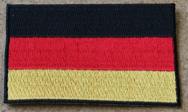 FB Deutschland Armflagge, groß, gestickt