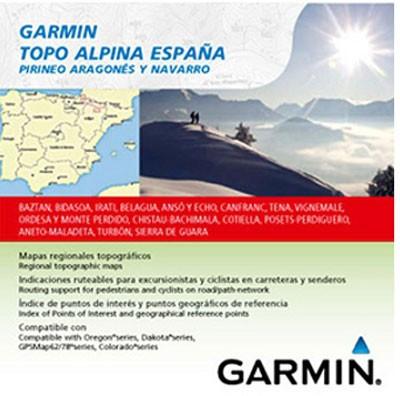 Topo Alpina Espana Pirineo Aragones microSD/SD